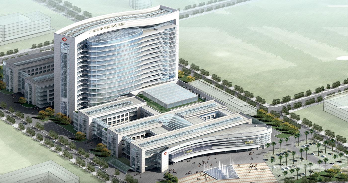 佛山市南海区中医院(设计、施工)