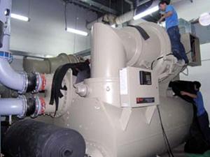 特灵:水冷离心式冷水机组主机检测