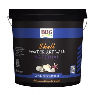 BBG贝壳粉抗污艺术壁材