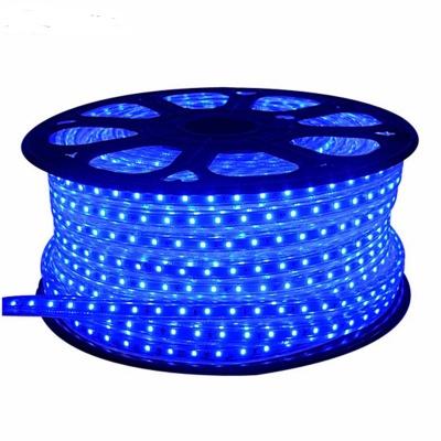 300leds,2835,Super Bright , Blue, Dimmable, 110-120V  Flat LED Strip Rope Light, Indoor/Outdoor