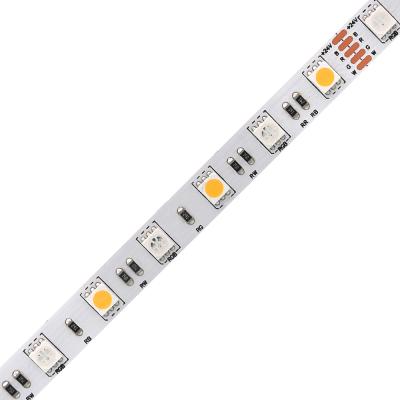 5050RGB+W 60leds led strip light