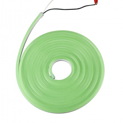 6*12mm SMD2835 Green 12V Pure Silicone LED neon light