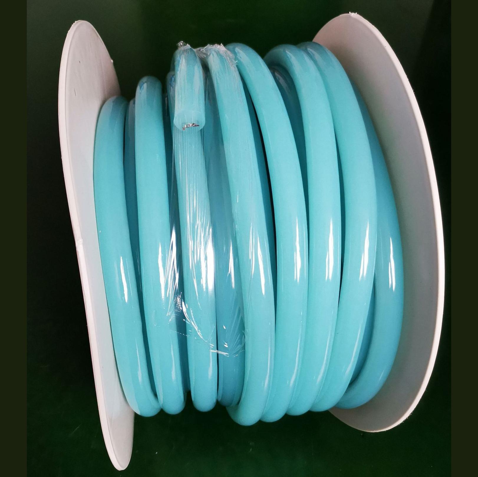 16mm Ice Blue 360 Degree Round LED Neon Strip Flexible Light 120Leds/M