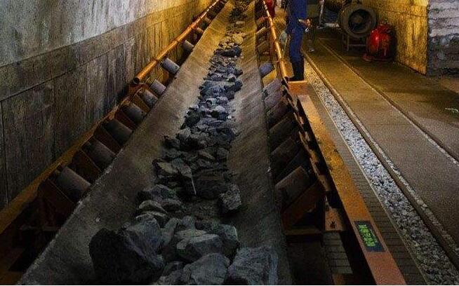 煤矿皮带运输机皮带纠偏装置