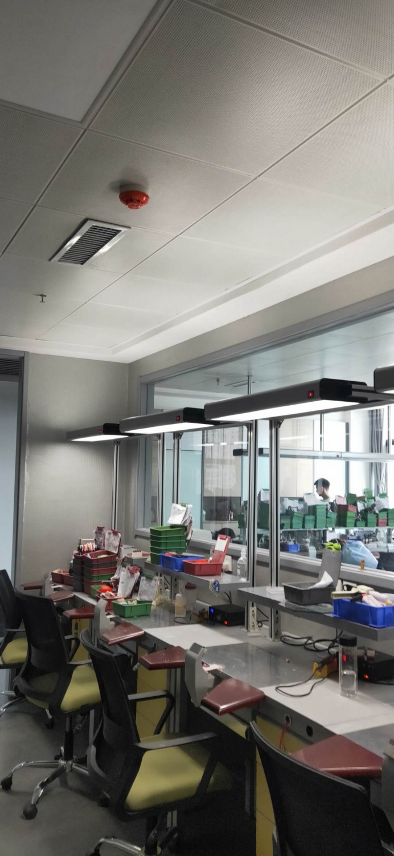 高显工位灯照面安装应用案例