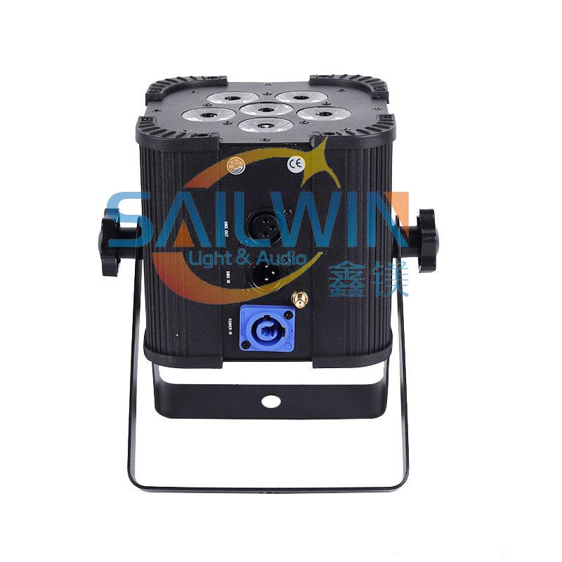 4*18W/6*18W 6IN1 RGBAW UV Battery Powered UPLIGHT