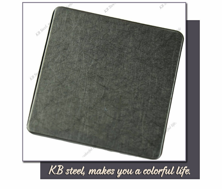 316L color vibration stainless steel plate wall panel