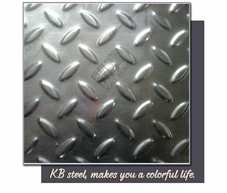 checkered road plate stainless steel sheet