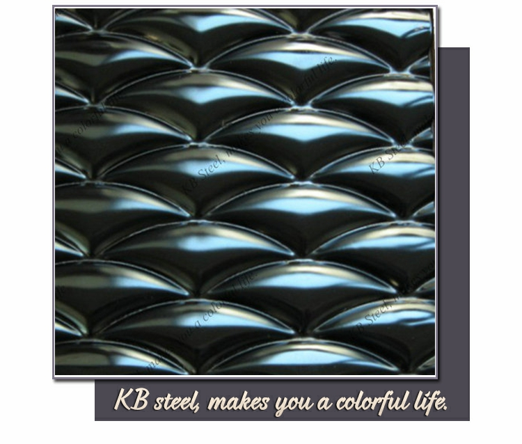 checker exterior color stainless steel wall panel