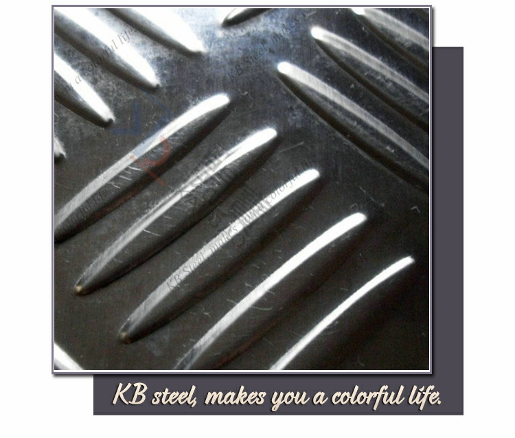 301 checkered color stainless steel sheet Manufacturer
