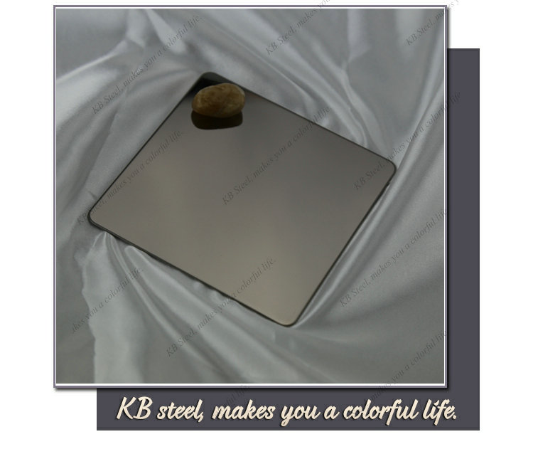 super mirror finish color stainless steel plate