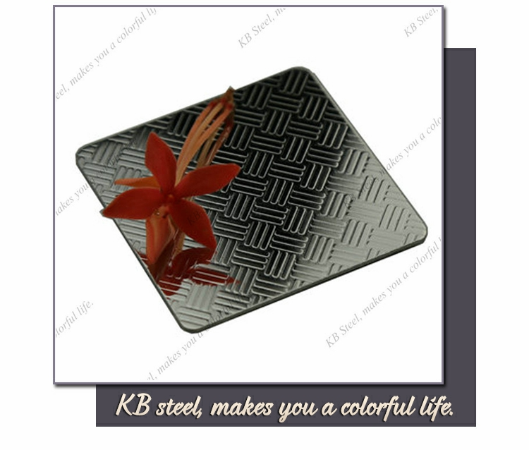 1.0mm embossing stainless steel sheet wall decoration