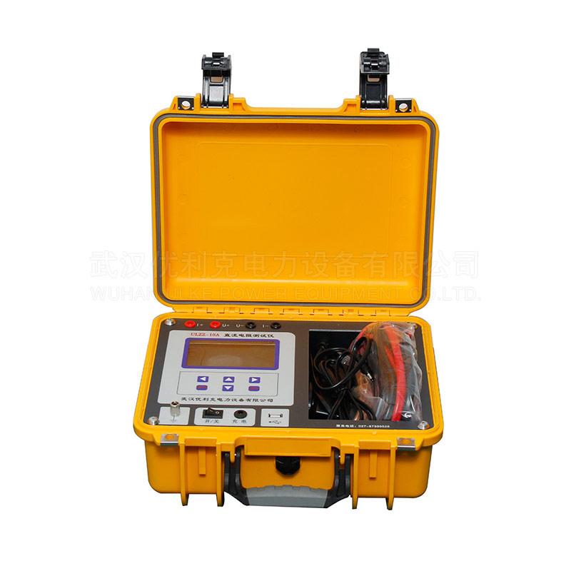 02.ULZZ-10A變壓器直流電阻測試儀(充電)