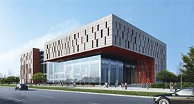 广州萝岗图书档案馆综合办公大楼