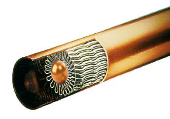 冷却器换热管结构
