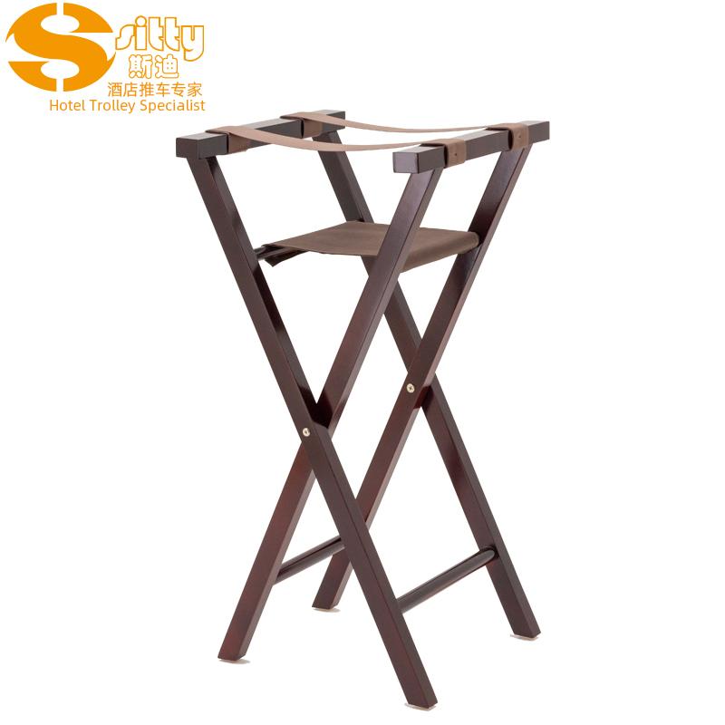 3357实木制餐盘椅