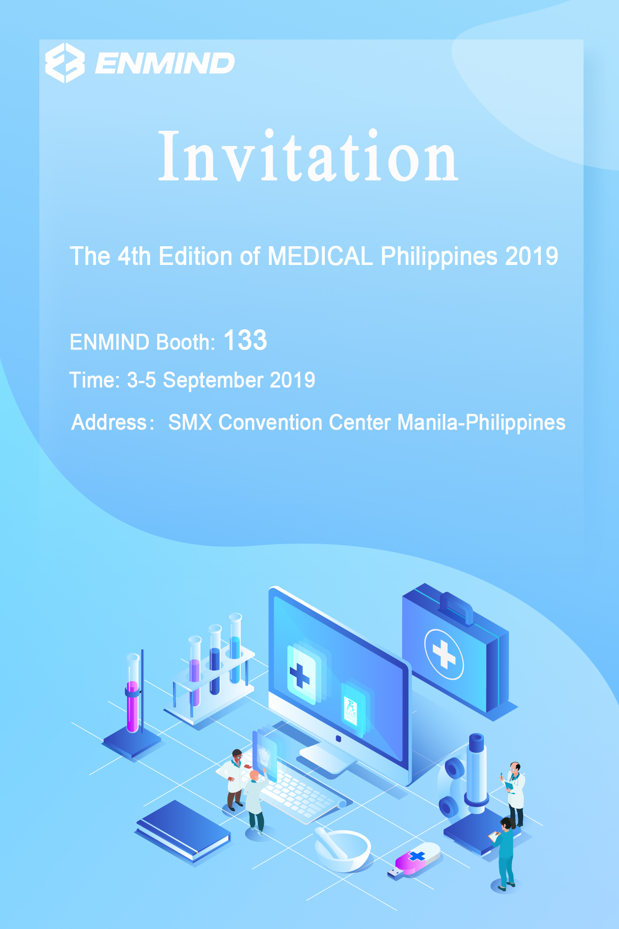 The MEDICAL Philippines 2019 Invitation
