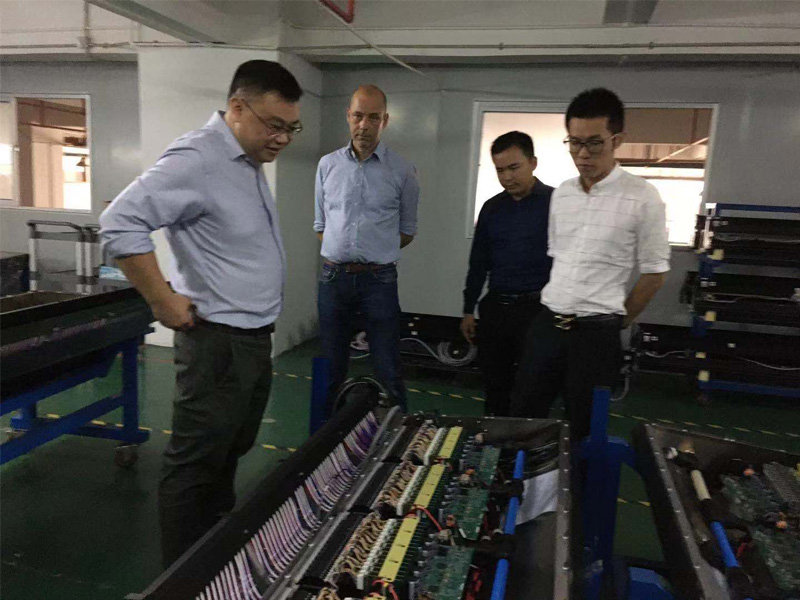 12th Nov. Warmly welcome Buhler team to audit our factory