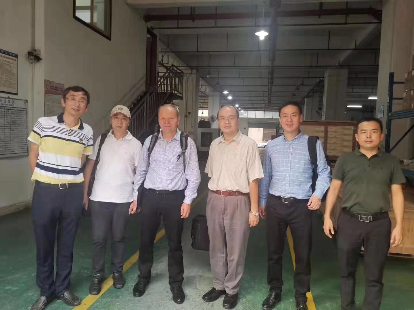 9th Oct.2019,Welcomed UK Spectris and Germany HBM visit and audit Hongzhou