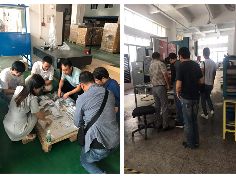 14th Oct.2019 Warmly welcome Ramon, Allan & Kevin visit Hongzhou Group
