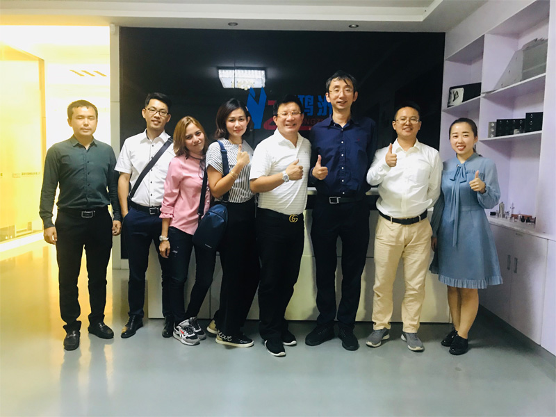 31th Oct. 2019 Indonesian client Mr Frangky and his team visit Hongzhou