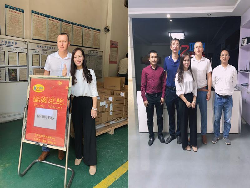1th Nov. 2019 Australian client visit Hongzhou to discuss kiosk solution