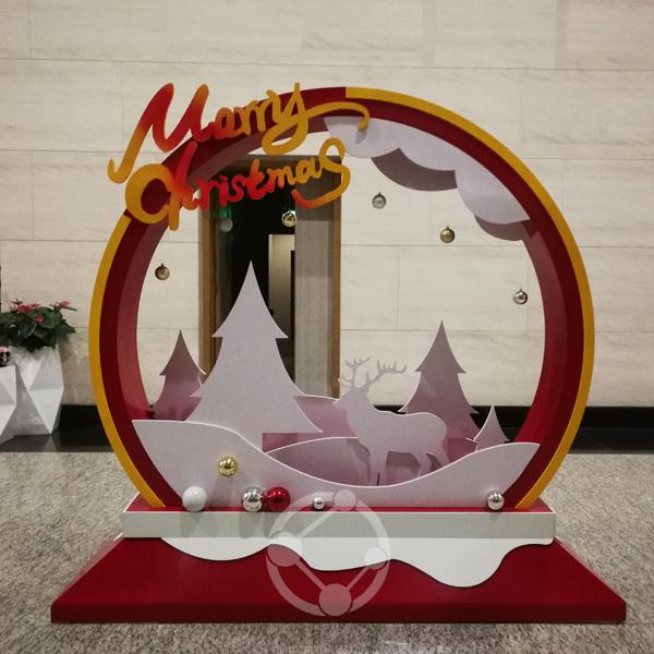 平安财富中心圣诞包装