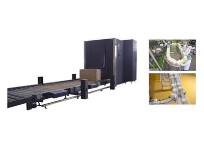 Conveyor type continuous weighing system