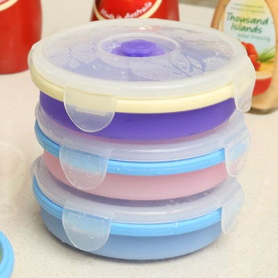 Wholesale in china food container microwave 4 layered lunch box with folding feature