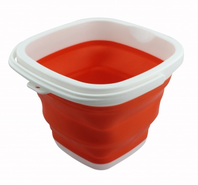 Collapsible bucket household Multifunctional Portable Foldable Travel Outdoor Wash bucket