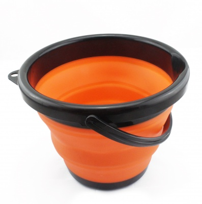 10L Collapsible Bucket Portable Folding Water Container Foldable Bucket Space Saving Bucket