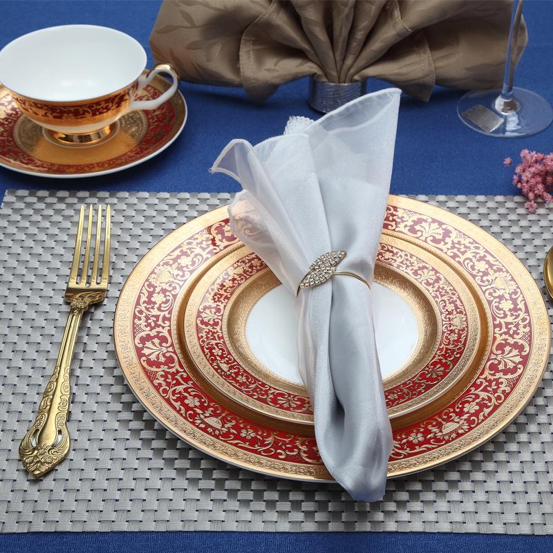 浮雕金红2-台面餐具