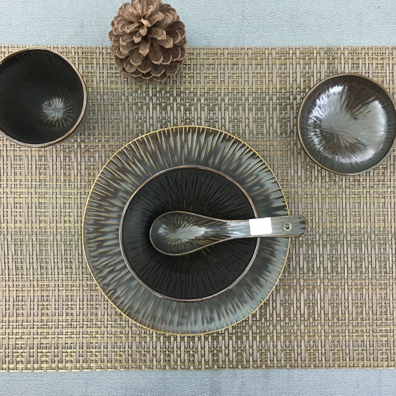 哑晶流星雨-台面餐具