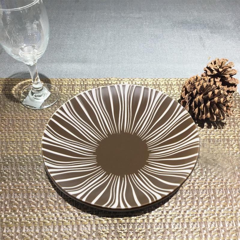 半光棕系列   台面餐具