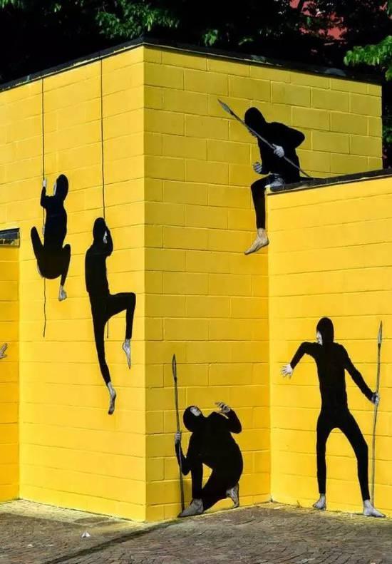 巴黎有的不只是浪漫,还有随处可见有趣的艺术墙绘!