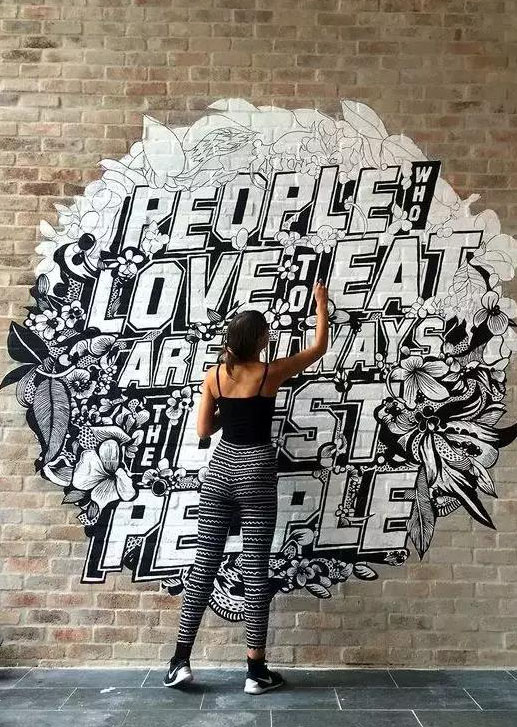 【墙绘】:艺术与街道的完美集合