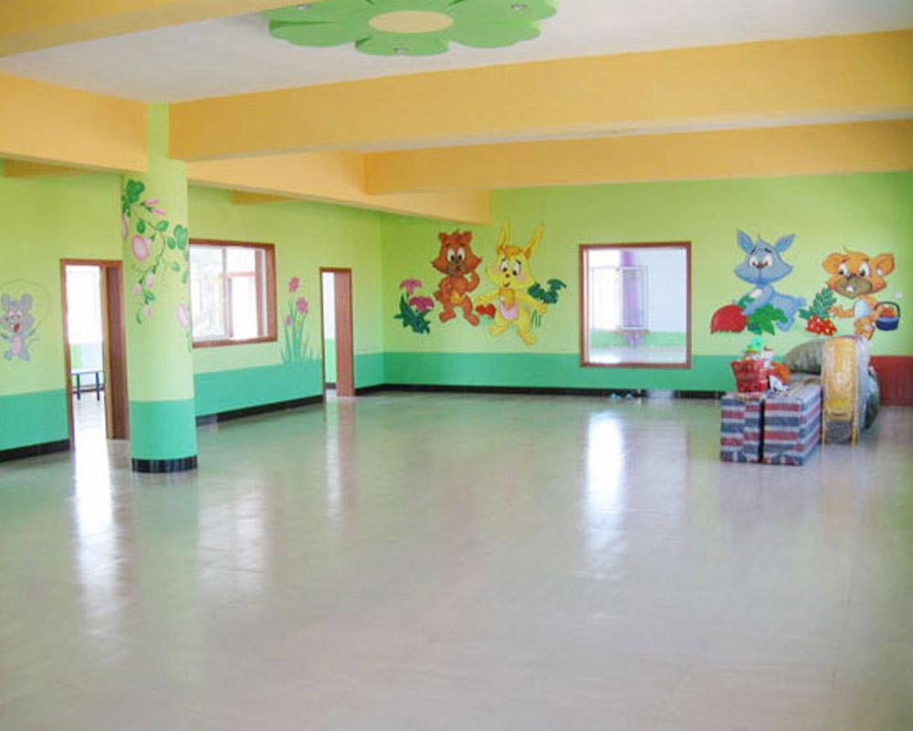墙绘在幼儿园中的价值体现