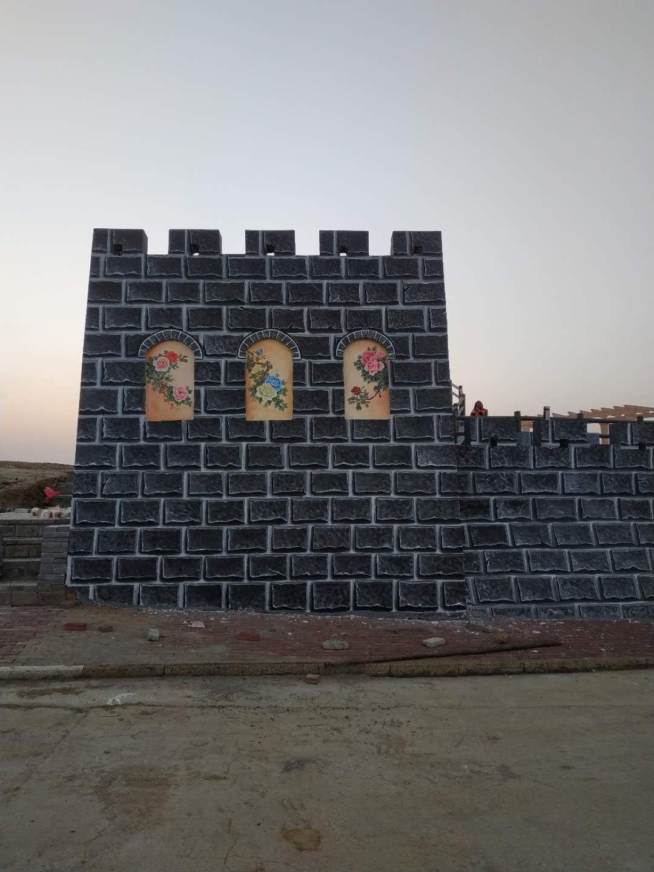 武汉墙绘项目之神农牡丹谷纪实
