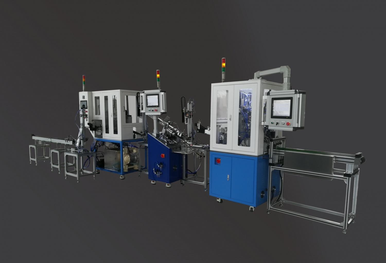 發動機氣門清洗、桿徑及氣密性檢測全自動檢測線
