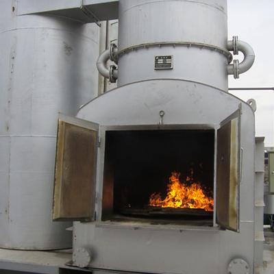 废油漆渣焚烧炉