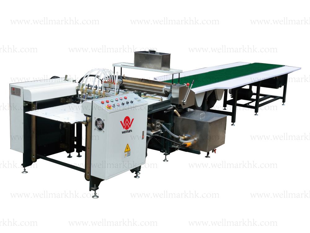 Automatic Gluing Machine(feeding paper by feeder)