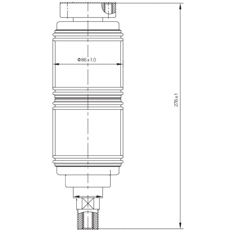 Vacuum Interrupter TD 12KV 1250A 25Q (JUC2311) from JUCRO Electric