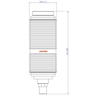Vacuum InterrupterTD-12/1250-31.5 (JUC618) from JUCRO Electric