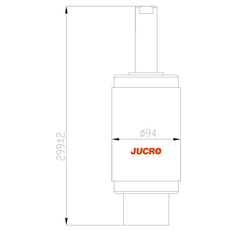 Vacuum Interrupter TD-12KV 2000A 25KA (JUC629B) from JUCRO Electric