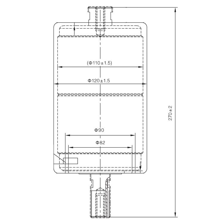 Vacuum Interrupter TD-36KV 630A 20KA (JUC2333-G) from JUCRO Electric