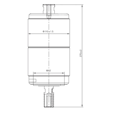 Vacuum Interrupter TD-36KV 1250A 25A (JUC2344) from JUCRO Electric