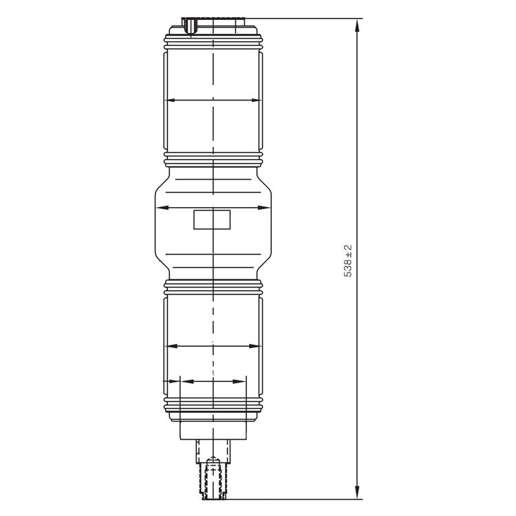 Vacuum Interrupter TD-40.5KV 1600A 31.5HD (JUC2217) from JUCRO Electric
