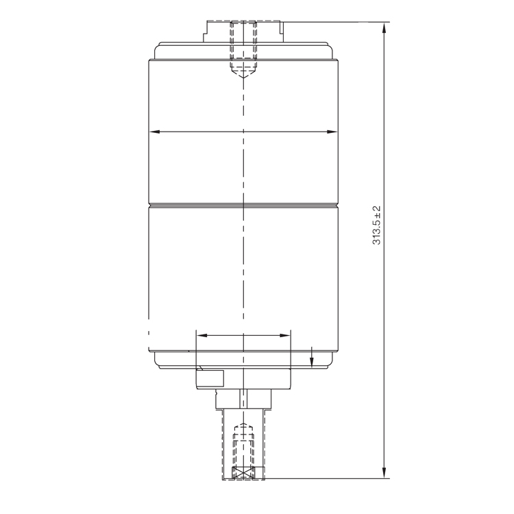 Vacuum Interrupter TD-40.5KV 2500A 31.5M (JUC2253) from JUCRO Electric