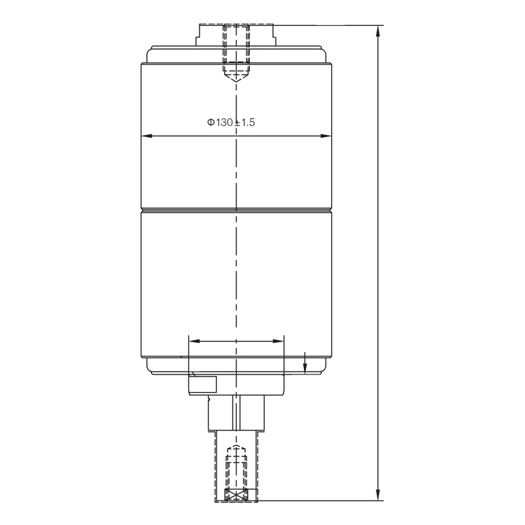Vacuum Interrupter TD-40.5KV 2500A 31.5M2 (JUC2503) from JUCRO Electric