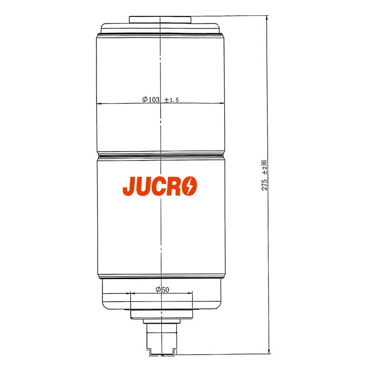 Vacuum Interrupter JUCA-40.5KV 1600A, 1250A 25KA (JUCA-61177A) from JUCRO Electric